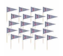 """Irublīši-karodziņi """"Jūrnieki"""" (36 gab)"""