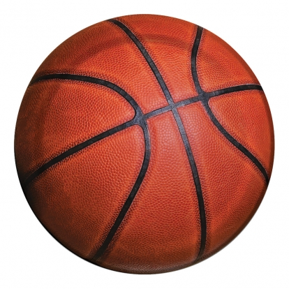 """Šķīvīši """"Basketbola laukumā"""" (8 gab/18 cm)"""