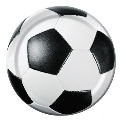 "Šķīvīši ""Futbola bumba"" (8 gab/18 cm)"