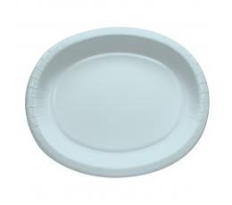 Šķīvīši,paplātes, gaiši zili (8 gab/30 cm)