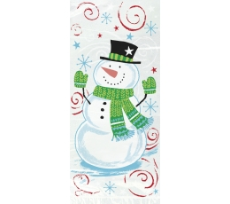"""Dāvanu maisiņi """"Sniegavīrs"""" (20 gab)"""