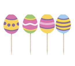"""Irbulīši-dekorācijas """"Lieldienu olas"""" (8 gab)"""