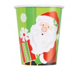 """Glāzītes """"Ziemassvētku vecīša dāvanas"""" (8 gab/266 ml)"""