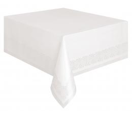 Papīra galdauts, balts (137x274 cm)