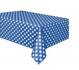 Galdauts, zils punktains (137x274 cm)