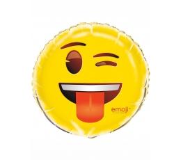 """Фольгированный шарик """"Эмодзи""""  (45 см)"""