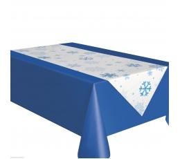 """Galda celiņš """"Sniegpārslas"""" (45 x 233 cm)"""
