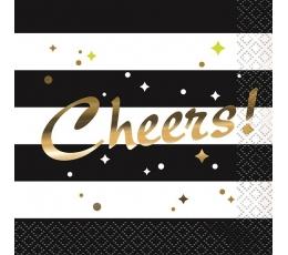"""Kokteiļu salvete """"Cheers"""" (16 gab)"""