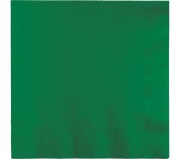 Salvetes, zaļas (20 gab)
