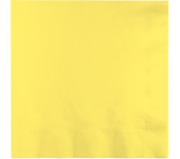 Salvetes, dzeltenīīgas (50 gab)