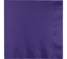 Салфетки, фиолетовые (20 шт)