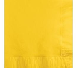 Салфетки, желтые(20 шт)