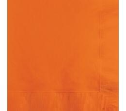 Салфетки, оранжевые(20 шт)