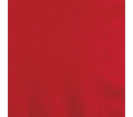 Salvetes, sarkanas (20 gab)