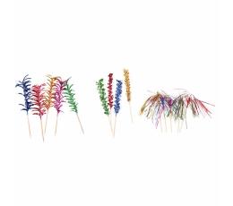 Палочки, фольгированные,цветные (10 шт)