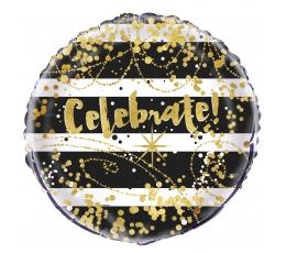 "Folija balons ""Celebrate"" (45 cm)"