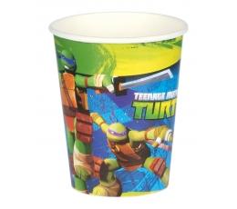 "Glāzītes ""Bruņurupuči nindzjas"" (8 gab/266 ml)"