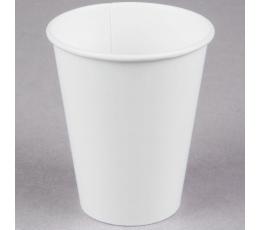 Glāzītes, baltas (24 gab/ 266 ml)