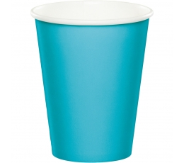 Glāzītes, okeāna krāsā (24 gab/266 ml)
