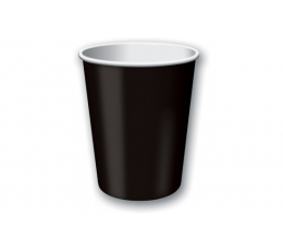 Glāzītes, melnas (24 gab/ 266 ml)