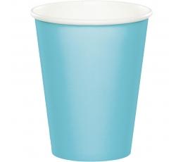 Glāzītes, gaiši zilas (24 gab/266 ml)