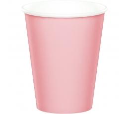 Glāzītes, maigi rozā (8 gab/ 266 ml)