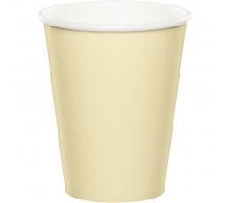 Glāzītes, šampanieša krāsas (24 gab/266 ml)