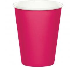 Glāzītes, spilgti rozā (24 gab/266 ml)