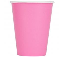 Стаканчики, розовые (24 шт / 266 мл)