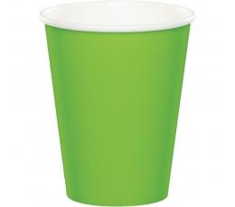 Glāzītes, spilgti salātkrāsas (24 gab/266 ml)