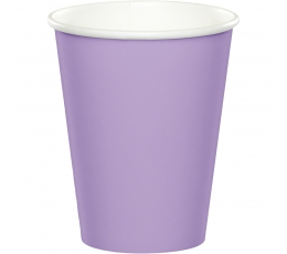 Glāzītes, lillā (24 gab/266 ml)