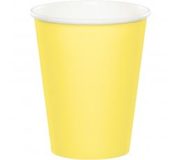 Glāzītes, dzeltenīgas (24 gab/266 ml)