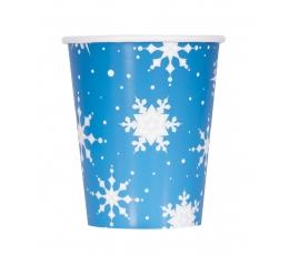 "Glāzītes ""Sudraba sniegpārslas"" (8 gab/ 266 ml)"