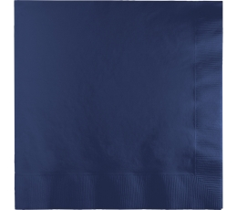 Salvetes, tumši zilas (50 gab)