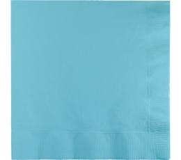 Salvetes, gaiši zilas (50 gab)