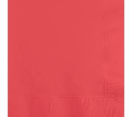 Salvetes, koraļļkrāsā (50 gab)