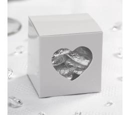 """Dāvanu kastīte ar lodziņu """"Sirsniņas"""""""