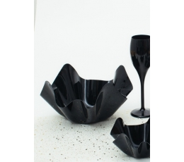 Plastmasas bļoda, melna (22,5x12 cm)