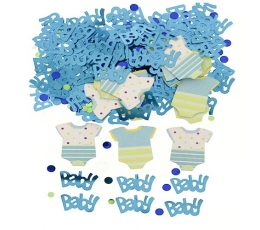 "Konfetti ""Baby shower"", zili (14 g)"