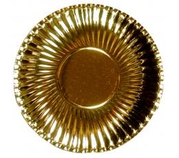 Šķīvis-paliktnis, zelta (10 gab/29cm)