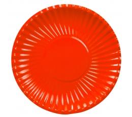 Šķīvis-paliktnis , sarkans (10 gab/29cm)