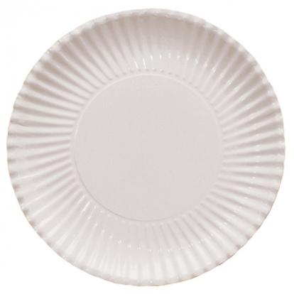 Šķīvīši-paliktņi, balti (10 gab/ 29 cm)