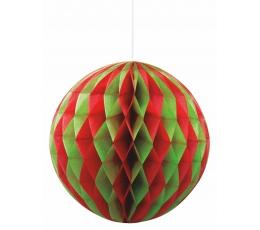 Burbulis, sarkani-zaļš (20 cm)