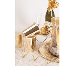 Glāzītes, spīdīgas -zelta (8 gab/ 250 ml)