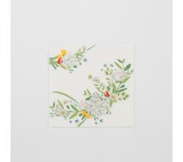 """Salvetes """"Pļavu ziedi"""" (16 gab)"""