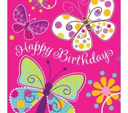 """Salvetes """"Taurenis. Sveiciens dzimšanas dienā"""" (16 gab)"""