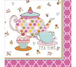 """Salvetes """"Tējas pēcpusdiena"""" (16 gab)"""