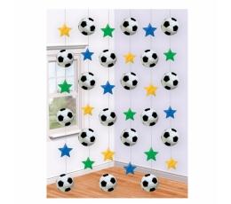 """Karināma dekorācija """"Futbols"""" (6 gab)"""