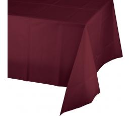 Galdauts, burgunieša krāsā (137x274 cm)
