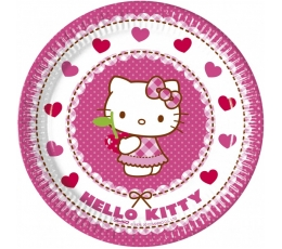 "Šķīvīši ""Hello Kitty"" (8gab/20cm)"